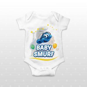 Body personalizat cu Strumfi