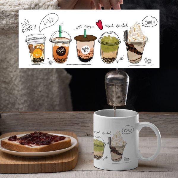 Cană personalizată Bubble Tea and Coffee