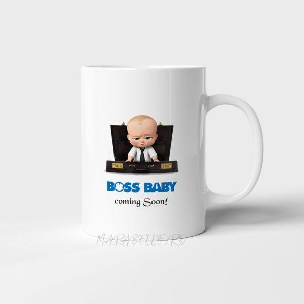 Cană personalizată Boss Baby