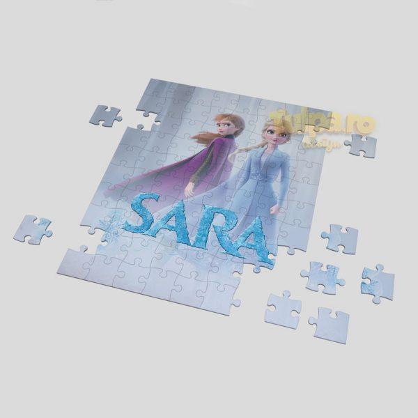Puzzle personalizabil cu Elsa