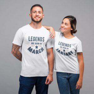 Tricou personalizabil Legends are Born