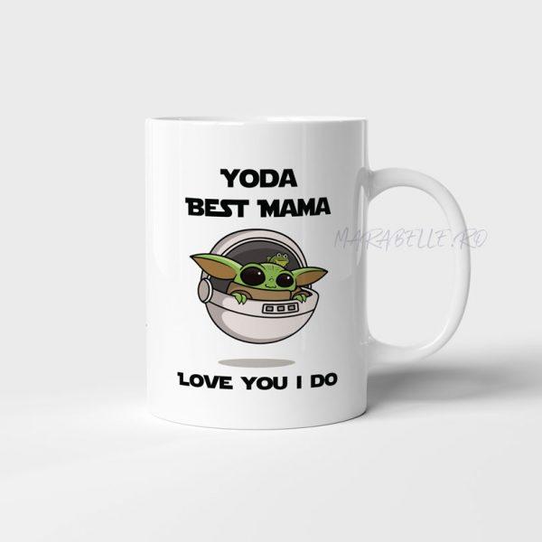 Cană Yoda Best Mama