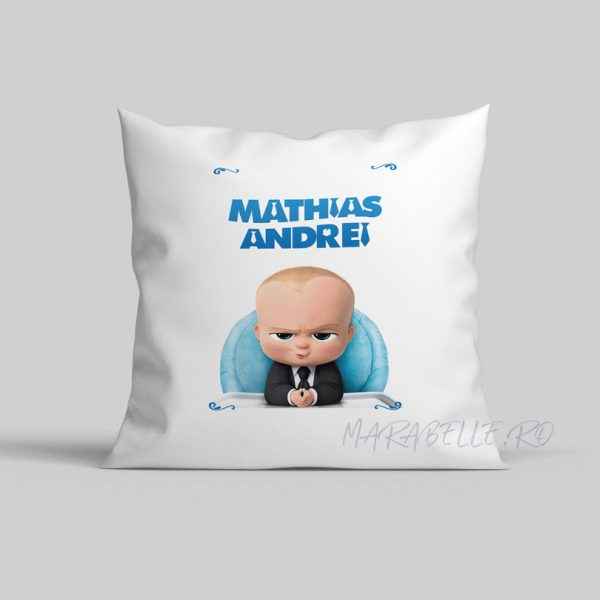 Pernă personalizată Boss Baby
