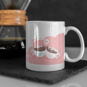 Căni personalizate pentru cafea pentru cupluri