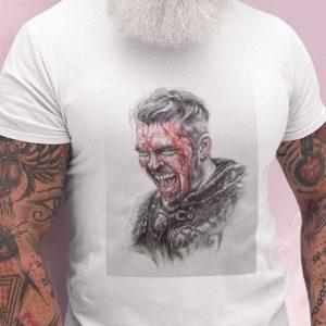 Tricou Ivar the Boneless, pentru fanii Vikings
