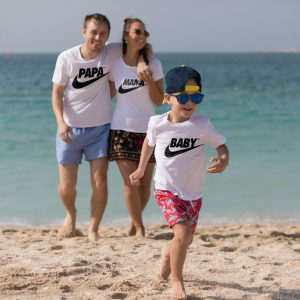 Tricouri Nike personalizabile pentru familie