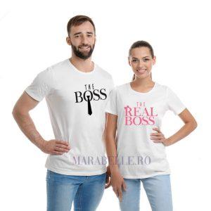 Tricouri pentru cupluri Boss