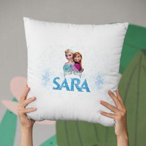 Pernă personalizată cu Elsa