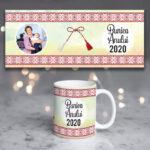 Cană cadou mărţişor personalizată cu poză, Bunica anului