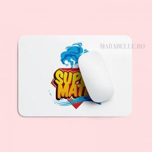 Mouse Pad personalizat cu Nume, tematica Super Erou