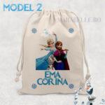 Săculeţ personalizat cu Elsa