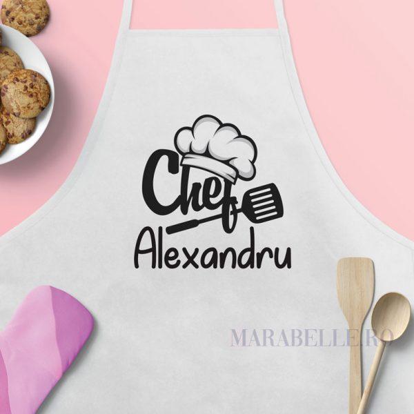 Şorţ de bucătărie personalizat - Chef