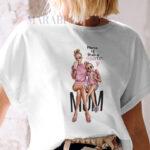 Tricou Mama of Drama din colecţia Super Mama