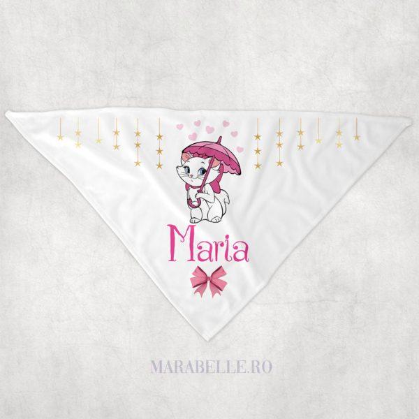 Eşarfă personalizată cu Marie, pentru bebeluşi