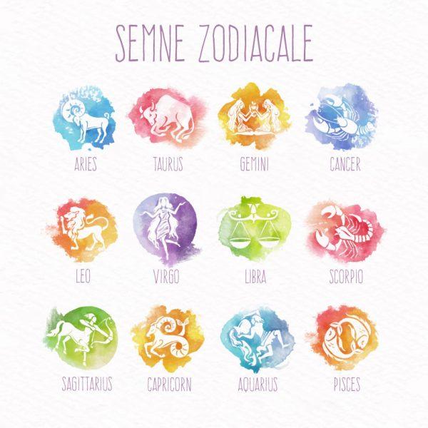 Zodiac pentru perne personalizate