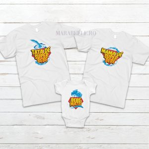 Set de 3 tricouri Super Bebe