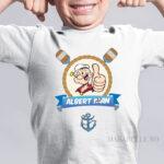 Tricou personalizat cu Popeye