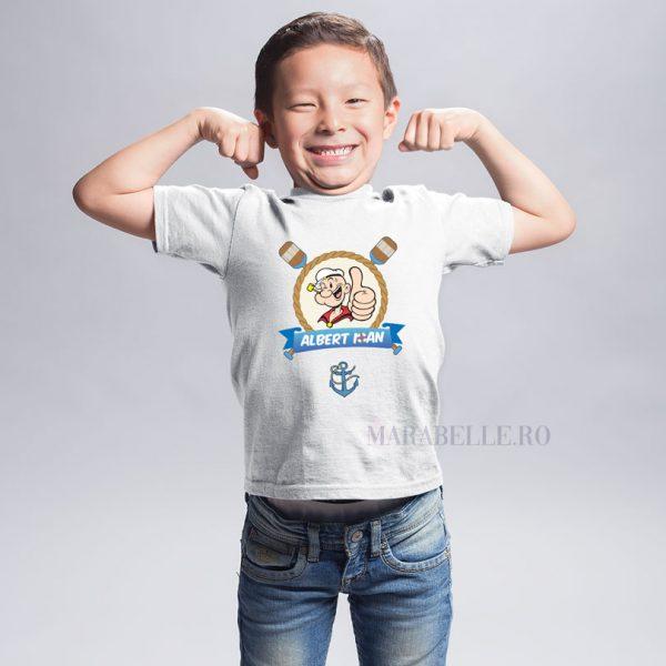 Tricou personalizat cu Popeye Marinarul
