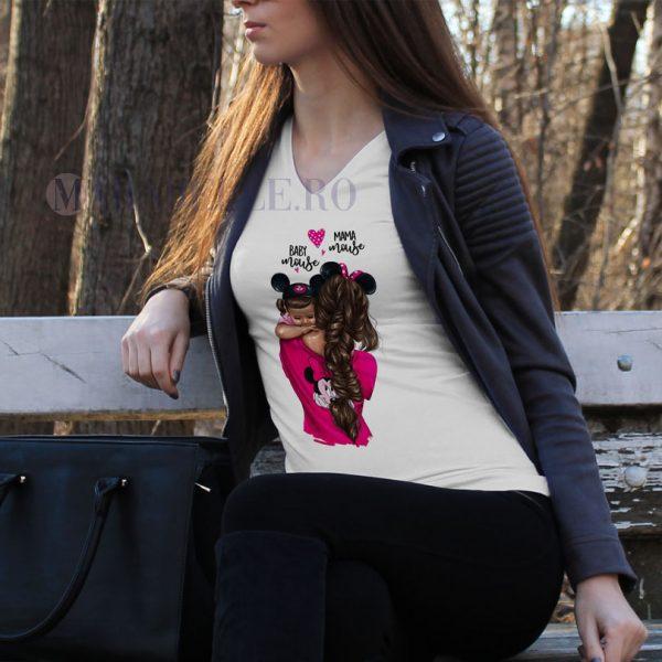 Tricou Mama Mouse din colecţia Super Mama