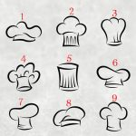 Bonete disponibile pentru personalizarea şorţului de bucătărie