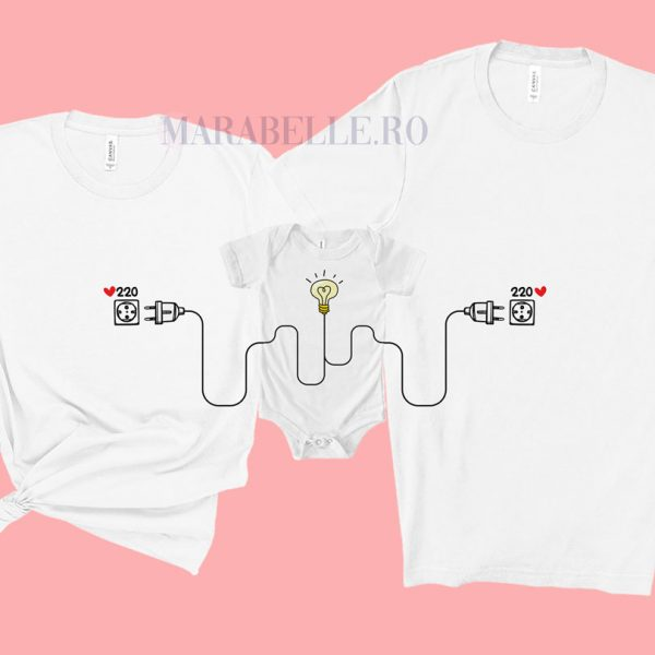 Set de tricouri şi body 220 Love