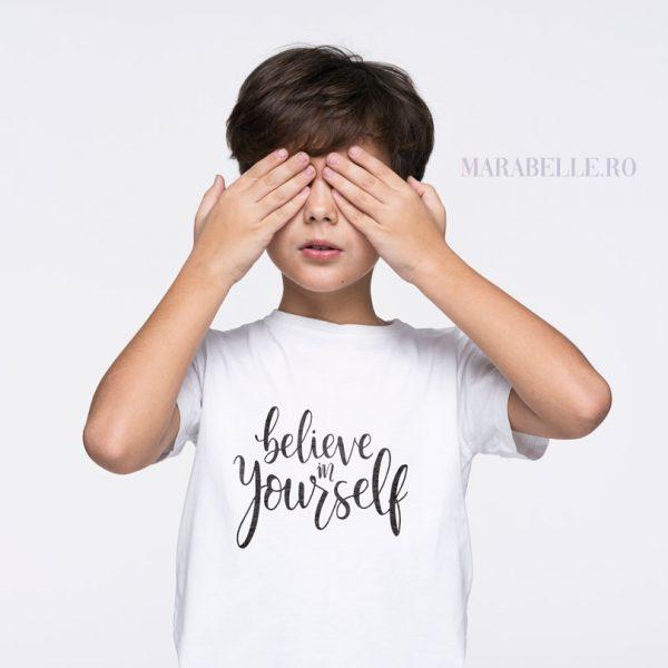 Tricou Believe In Yourself, pentru copii