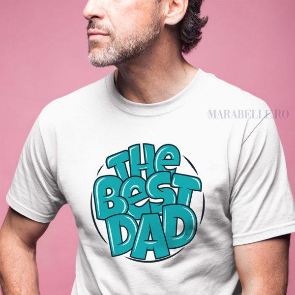 Tricou pentru tătici, The Best Dad In The World