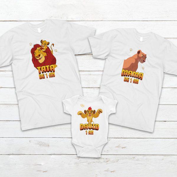 Model 2 - Body şi tricouri aniversare cu Garda Felină