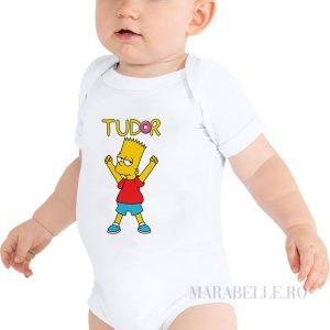 Body bebeluşi personalizat cu Familia Simpsons