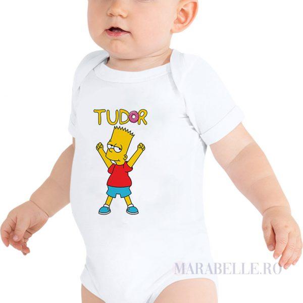 Set de tricouri şi body Familia Simpsons personalizate