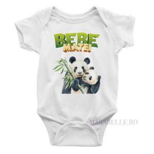 Body cu Panda personalizat cu nume