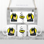 Cană cadou personalizată cu Batman
