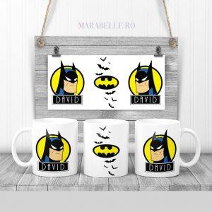 Cană personalizată cu Batman
