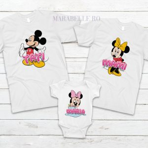 Set de tricouri cu Mickey Mouse