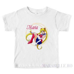 Tricou personalizat cu Sailor Moon