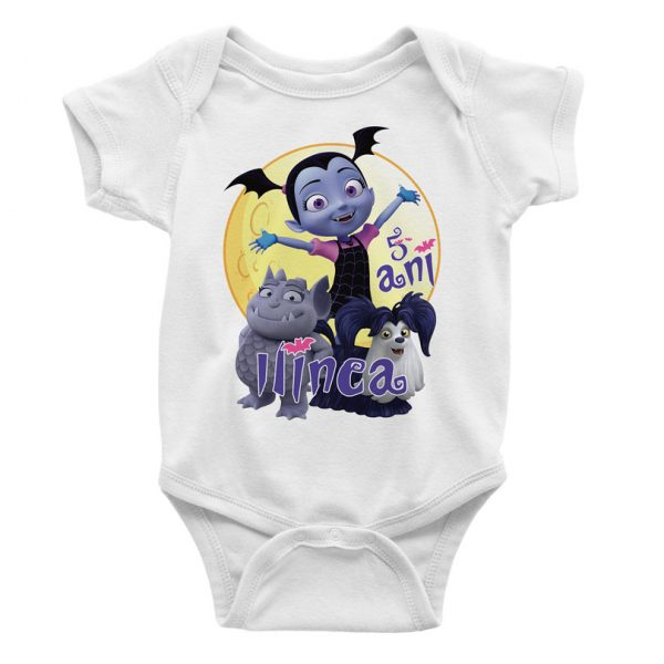 Set de tricouri cu Vampirina, personalizabile şi pentru tăiere de moţ
