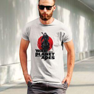 """Tricou pentru bărbaţi cu Caesar din """"Planet of the Apes"""""""