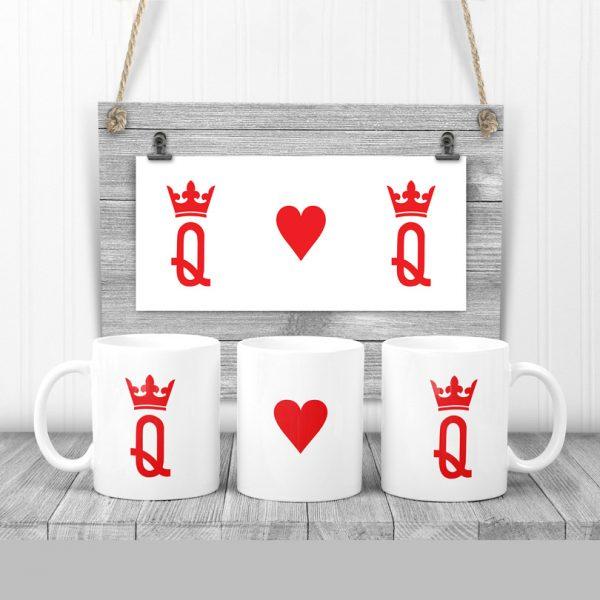Cană pentru cupluri King and Queen
