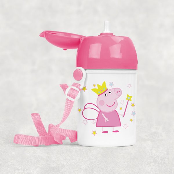 Sticluţă cu Peppa Pig, personalizată cu nume