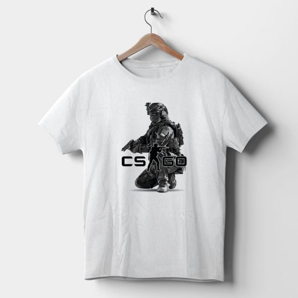 Tricou Counter Strike Global Offensive pentru gameri, 2 variante