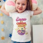Tricouri pentru copii Is A Cereal Killer