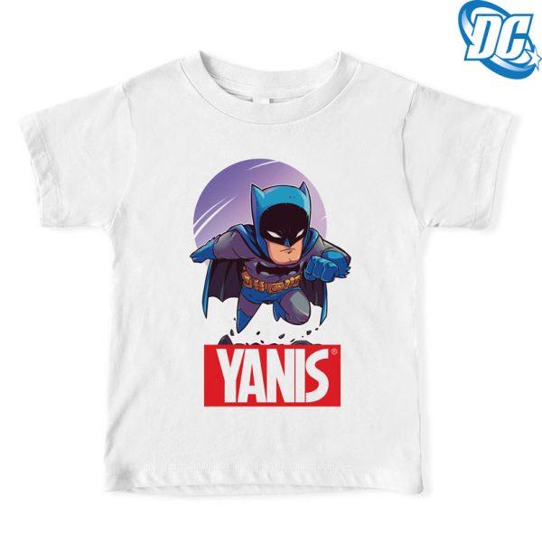 Tricou Batman pentru copii personalizat cu nume, Marvel, DC Comics