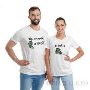 """tricouri pentru cupluri """"Mi-am găsit perechea"""""""