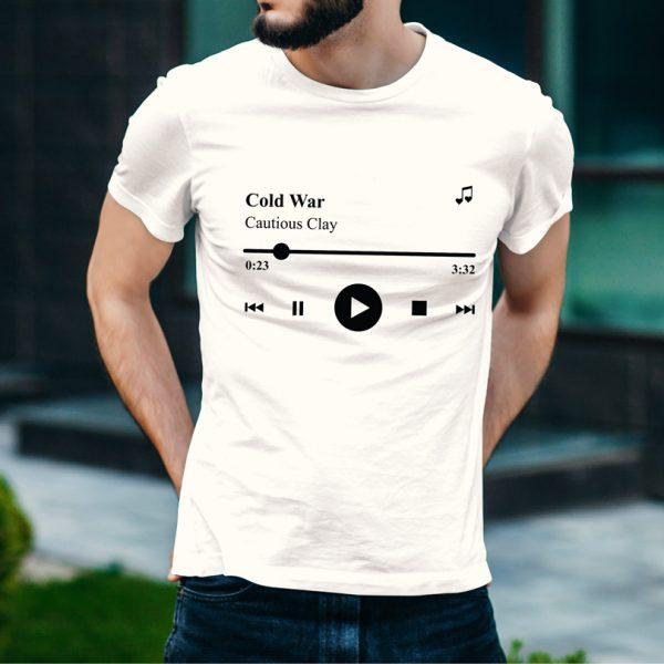 Tricou Playlist, personalizat cu melodia şi artistul preferat