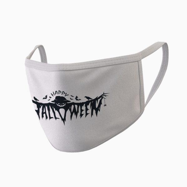 Mască textilă Happy Halloween