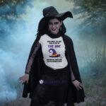 Tricou pentru Halloween cu text amuzant