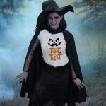 Tricou Halloween - Trick or Treat, faţă de dovleac