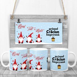 Cană pentru Crăciun cu Pitici, Primul Crăciun Împreună