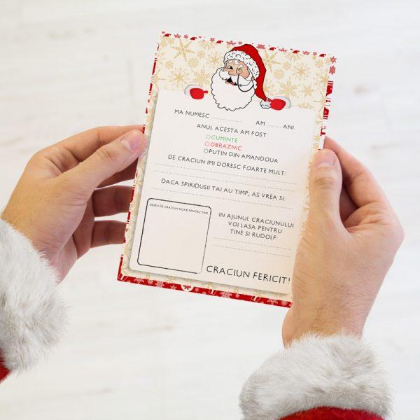 Scrisoare pentru Moş Crăciun