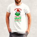 Tricou Crăciun Grinch pentru bărbaţi